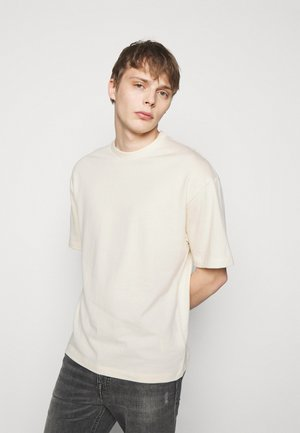 HUNT - T-shirt basic - offwhite