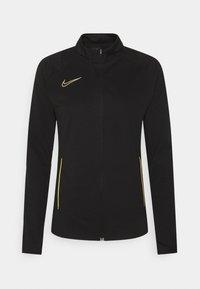 Nike Performance - ACADEMY 21 TRACKSUIT - Treningsdress - black/saturn gold - 14
