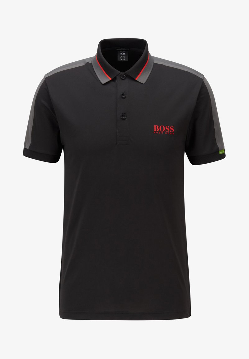 BOSS ATHLEISURE - PAULE - Polo shirt - black