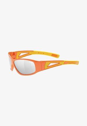 Sports glasses - orange-yellow