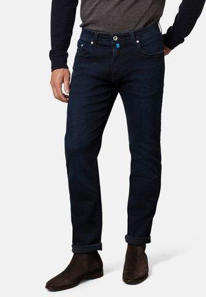 LYON - Straight leg jeans - granat/blau