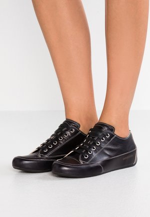 ROCK  - Sneakers basse - tamp nero/ base nero