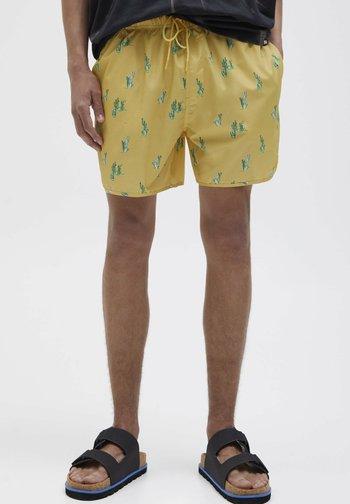 CACTUS - Swimming trunks - yellow