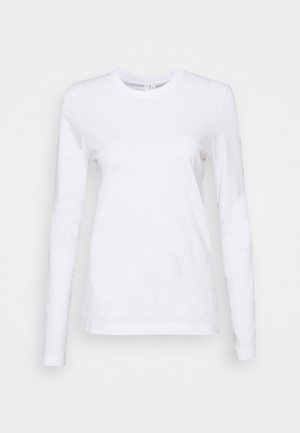 LONGSLEEVE - Long sleeved top - white