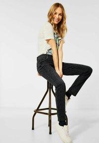 Cecil - Slim fit jeans - grau - 2