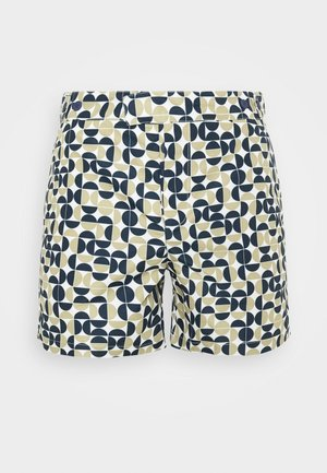 TRUNKS TAILORED SHORT SHADE - Swimming shorts - twine/ink