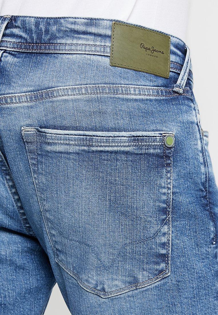 STANLEY Jeans Tapered Fit light used broken twill wiserwash
