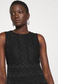 M Missoni - SLEEVELESS DRESS - Jumper dress - black - 4