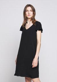 Bruuns Bazaar - LILLI FENIJA DRESS - Day dress - black - 0