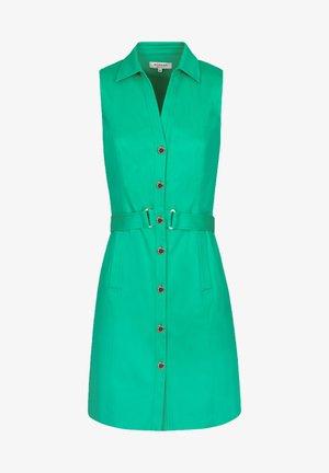 Vestido camisero - green
