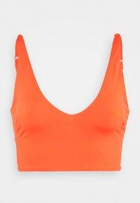 TONI PLUNGE CROP - Bikinitopp - orange