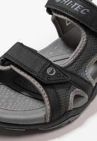 Hi-Tec - CRATER - Chodecké sandály - charcoal/cool grey - 5