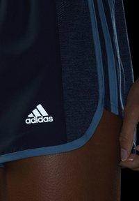 adidas Performance - MARATHON 20 COOLE RESPONSE AEROREADY RUNNING SHORTS - Pantaloncini sportivi - crew navy/hazy blue - 4