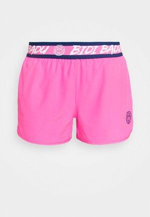TIIDA TECH SHORTS - Sports shorts - pink/dark blue