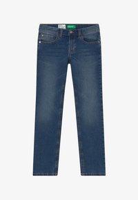 Benetton - Slim fit jeans - blue denim - 2