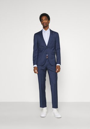 FLEX SLIM FIT SUIT - Oblek - blue