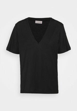 ANEILIA - T-shirt - bas - black