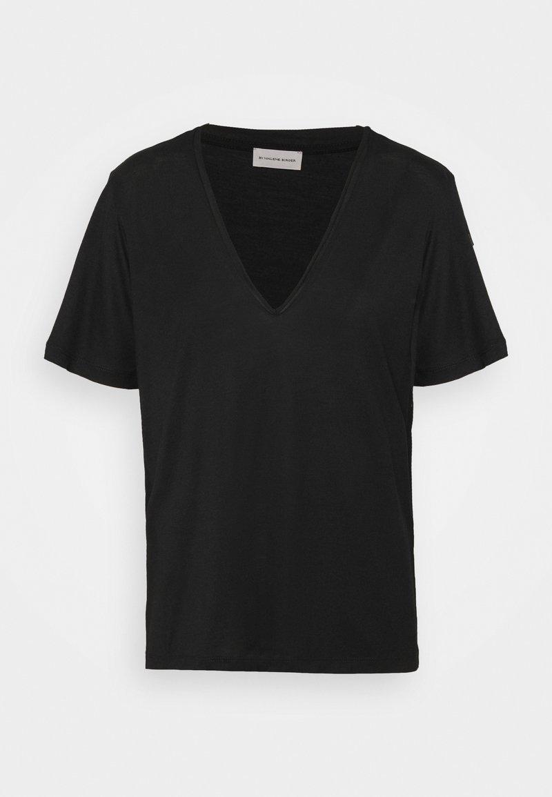 By Malene Birger - ANEILIA - Basic T-shirt - black
