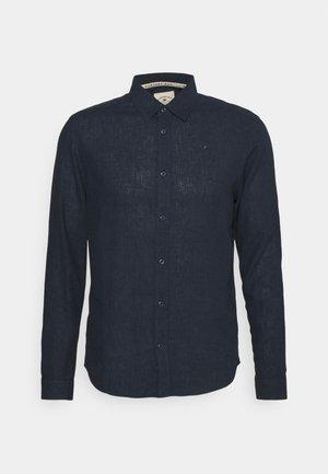 LEINEN MIX - Koszula biznesowa - navy