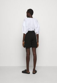 3.1 Phillip Lim - FRENCH TERRY PULL ON - Shorts - black - 2