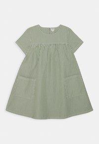 ARKET - DRESS - Denní šaty - green/white - 0