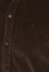 Kronstadt - JOHN OVERSHIRT - Shirt - dusty brown - 2