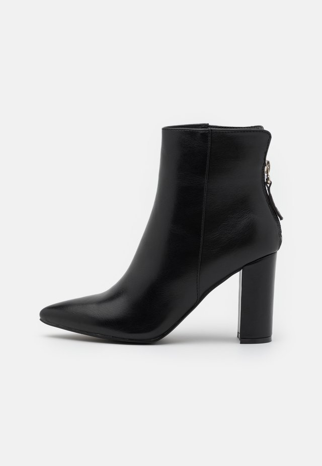 NETHRA - Bottines à talons hauts - black