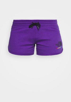 RAINBOW SHORT - Korte sportsbukser - peak purple