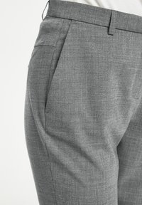 Karen by Simonsen - SYDNEY - Trousers - grey melange - 4