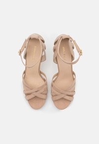 Anna Field - LEATHER - High heeled sandals - beige - 5