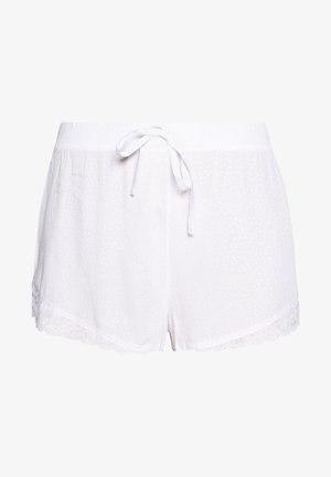SPOT MIX SHORT - Pyjama bottoms - white