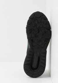Nike Sportswear - AIR MAX 270 REACT - Sneakers basse - black/cerulean/thunder grey/barely volt - 5