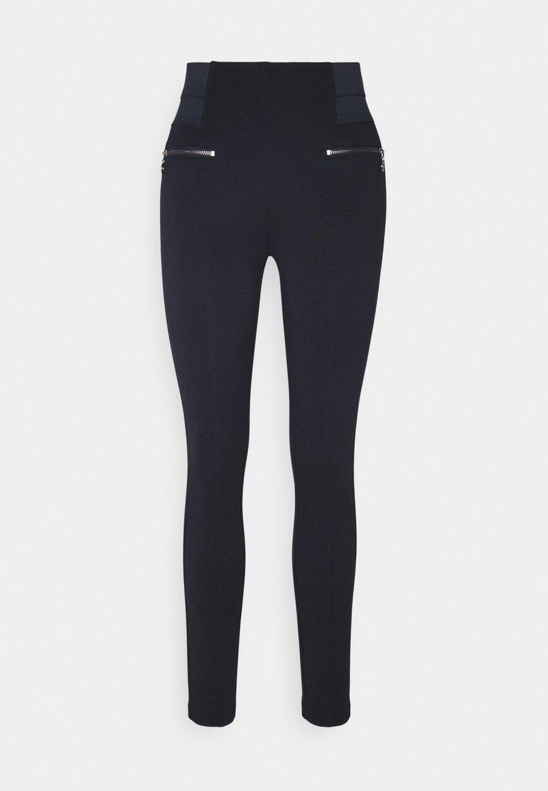 comma casual identity - Leggings - Trousers - dark blue