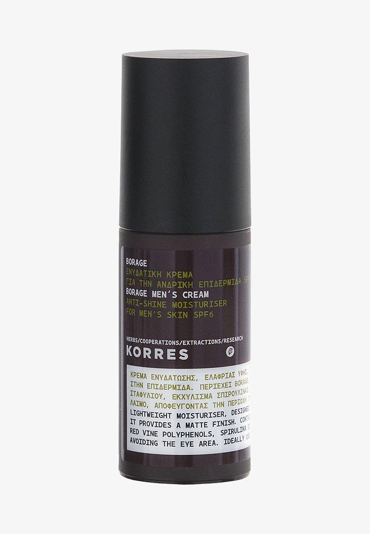 Korres - BORAGE SPF6 MATTIFYING MOISTURISER - Face cream - -