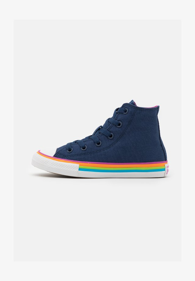 CHUCK TAYLOR ALL STAR UNISEX - High-top trainers - navy/cactus flower/white