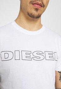 Diesel - 2 PACK - T-shirt con stampa - black/white - 6