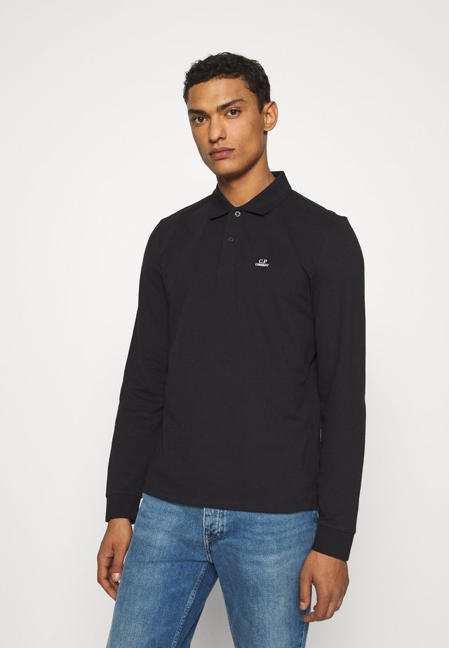 LONG SLEEVE - Poloskjorter - black