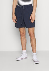 Tommy Jeans - BELTED BEACH  - Shorts - blue - 0