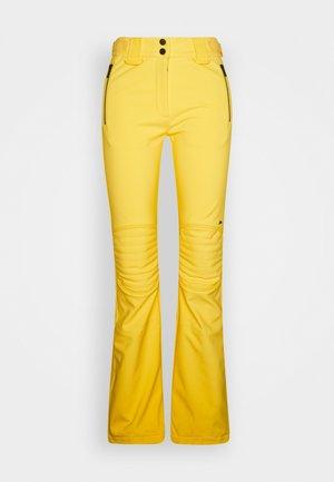 Spodnie narciarskie - banging yellow