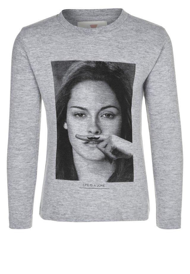 LITTLE CHRIS - T-shirt à manches longues - mixed grey
