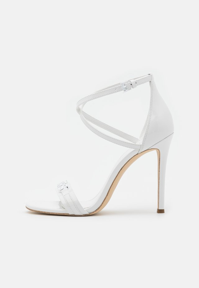 GOLDIE SINGLE SOLE  - Sandales - optic white