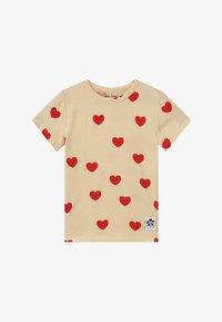 Mini Rodini - HEARTS TEE - T-Shirt print - offwhite - 2