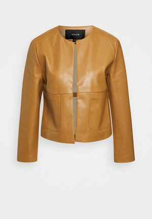 JASI - Leather jacket - peanut