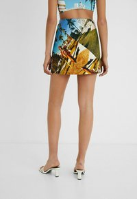 Desigual - DESIGNED BY ESTEBAN CORTAZAR - Mini skirt - blue - 2