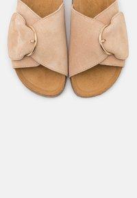 Zign - Pantofle - beige - 5