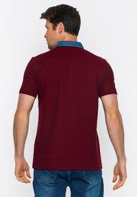 Basics and More - Polo shirt - bordeaux - 1