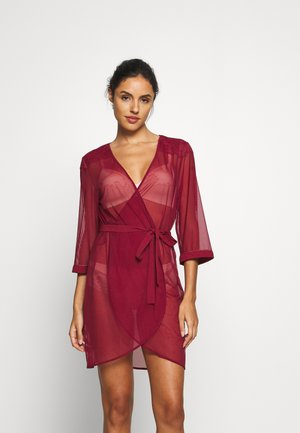 SPOTLIGHT ROBE - Dressing gown - cardinal