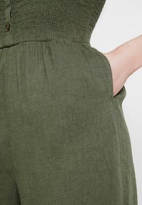 Hollister Co. - BUTTON FRONT - Overal - olive - 7