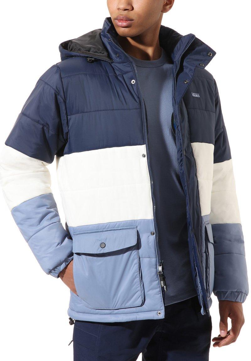 Vans - MN BURNS MTE - Winter jacket - drsbls/antiquewht/infnty