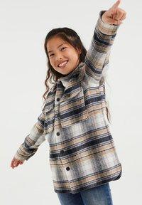 WE Fashion - Krótki płaszcz - beige - 1